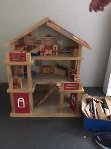 lovely wooden dolls house Blackmans Bay Kingborough Area Preview