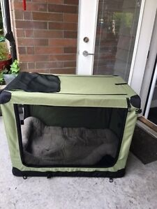 New Dog Crate with Bed