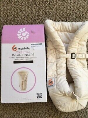 Ergo baby Original Infant Insert Natural Beige Color 100% cotton Ergobaby