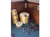 Tama Rockstar Custom Drum Kit WITH CASES & Hardware £350 ONO.