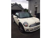2010 White Mini Convertible Petrol 1598