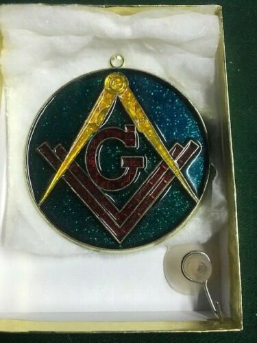 Vintage Freemasons sun catcher