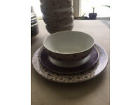 Next set of plates and bowls 36 pieces