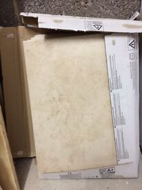Wall tiles - surplus to requirement - 2 square metres