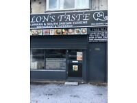 To Lease New Sri Lankan and South Indian Cuisine Restaurant & Takeaway in Acocks Green, Birmingham