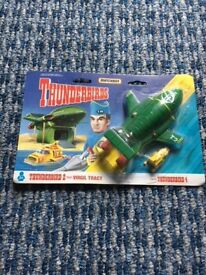 Brand New Matchbox Thunderbird 2 and Thunderbird 4. Still packaged