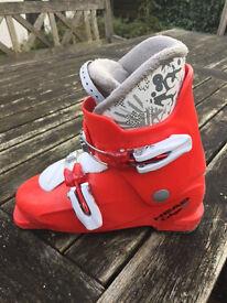 Childrens first ski boots
