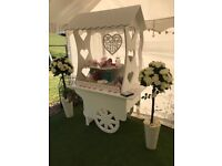 Sweet Cart / Candy Cart for all occasions to Hire , Free delivery within 20 mile radius