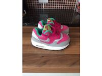 CHILDS/TODDLERS NIKE AIR MAX SIZE 4.5 IN PINK