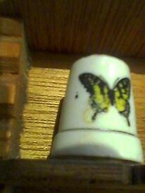 BUTTERFLY collectable thimble
