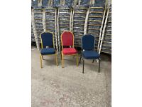 Cancelled order. Brand New still bagged Banqueting chairs. Ideal for all venues.