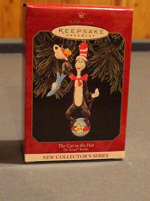 HALLMARK DR. SEUSS THE CAT IN THE HAT 1999 ORNAMENT NEW