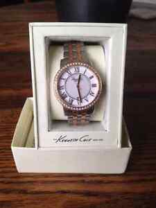 KENNETH COLE Two-Tone Jane Watch -- Brand New!