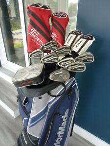 Superbe ensemble golf Callaway Big Bertha Alpha,Apex et Ping G25