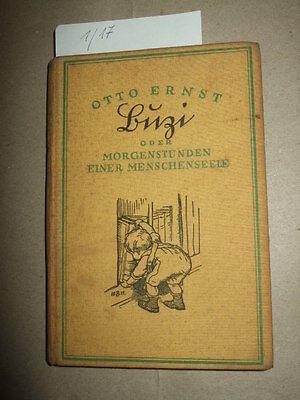 Buzi oder Morgenstunden einer Menschenseele, O.Ernst, 1925, Kinder-Geschichte
