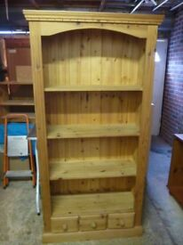 Beautiful Solid Pine Bookcase