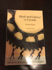 Work and Labour in Canada- third edition