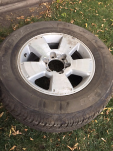 1 Tire with Rim