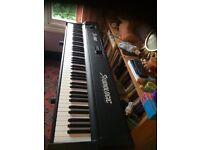 Fully weighted. 88 Keys. Studiologic SL-1100 Midi Keyboard