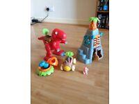 Happyland dinosaur toy