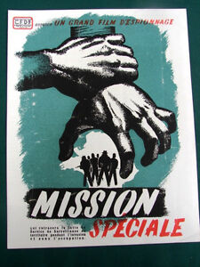 Mission-Speciale-orig-1946-French-Espionage-Movie-Program