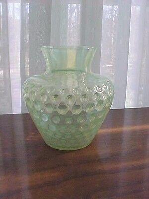 vasilene Opalescent baby coin dot vase