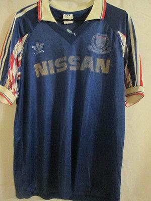 1988-1990 Yokohama F Marinos Home Football Shirt Size Medium /10683 image
