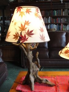 Unique table lamps  $95.00 and $150 or $225  for both Belleville Belleville Area image 2