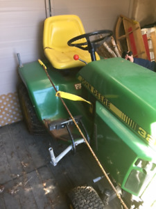 *JOHN DEERE 322 TRACKER - LAWN AND SNOW BLOWER FOR SALE*