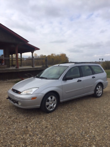 2002 Ford Focus ZTW Wagon 1 owner!