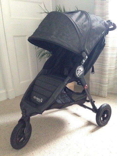 Brand New Baby Jogger City mini GT Charcoal Grey Denim