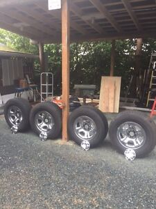 P266/70R17 tires and rims