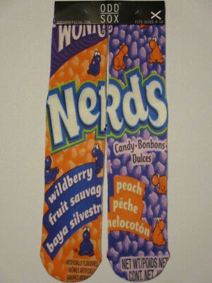 nerds wildberry candy sox BUY 3 GET 4TH FREE Streetwear novelty footwear ODD SOX](Buy Candy)