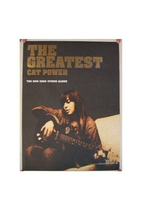 Cat Power Poster The Greatest