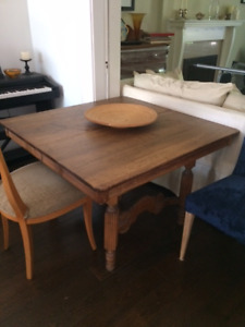 French farmhouse solid pine dining table