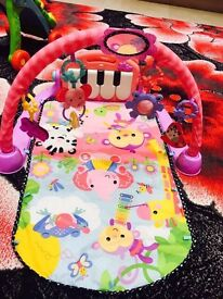 Fisher Price Kick And Play - Pink