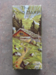 M. Hohner Echo Harp 54 Tremolo Harmonica 2x32 holes, Keys C & G