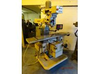 TOS FNK25A TURRET MILLING MACHINE DRO YEAR 1987