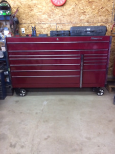 """Snap On 12 drawer 72"""" Tool Box LIKE NEW!!!"""