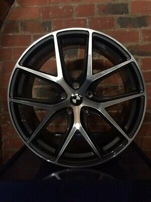 """19"""" Staggered Alloy Wheels To Fit BMW 3 Series E90 / F30"""