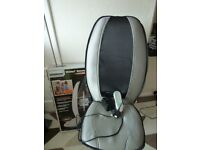 HOMEDICS SHIATSU + BACK MASSAGER, SEAT MASSAGER
