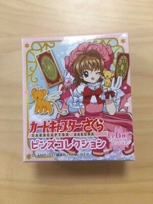 NEW Cardcaptor Sakura Japan CLAMP Stainless Steel Pin OFFICIAL MERCHANDISE BNIB