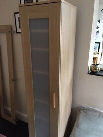IKEA ANEBODE SHELVING UNIT BEECH FINISH