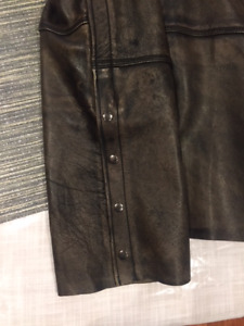 Antique brown Leather Chaps