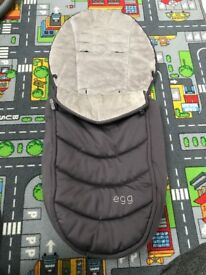 Egg Winter Foot Muff - As New Condition