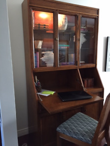 Home office or dining room cabinet