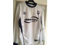 Retro Preston North End 'New Reg' Long Sleeve shirt Medium