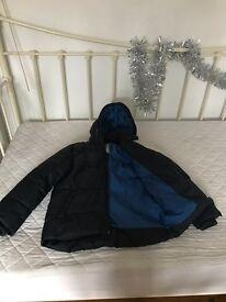 Blue boys jacket/anorak (7-9 years)