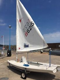 Laser 1 Dinghy (156215) Full and Radial rigs for sale