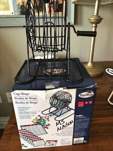Bingo Set (Markers, Cage, Balls and Cards)